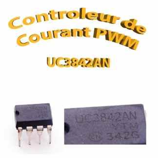 UC3842 - Contrôleurs de courant pwm - 400khz - 1W -TL3842P