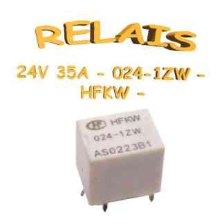 024-1ZW - Relais miniature CI 24v - 250v - 35A