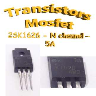 2SK1626 - Transistors mosfet channel N- 450v - 5A - To220 - 35W