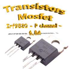 IRF9520 - Mosfet P - 100v - 6.8A - To220 - 60w