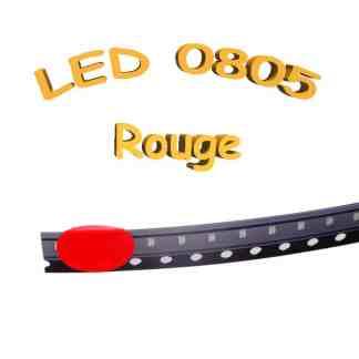 LED 0805 rouge - 1.8-2V - 20mA