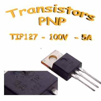 Tip127 - Transistor darlington PNP - 100v - 5A - To220 - 65W
