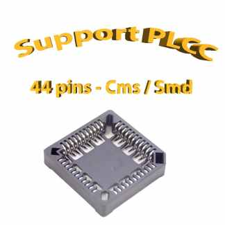 Support PLCC44 - 1A - 260° - Cms / Smd