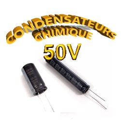 Condensateur Chimique / Condensateur Électrolytique 50V