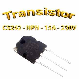 C5242 Toshiba – Transistor NPN - 230V - 15A - 80W