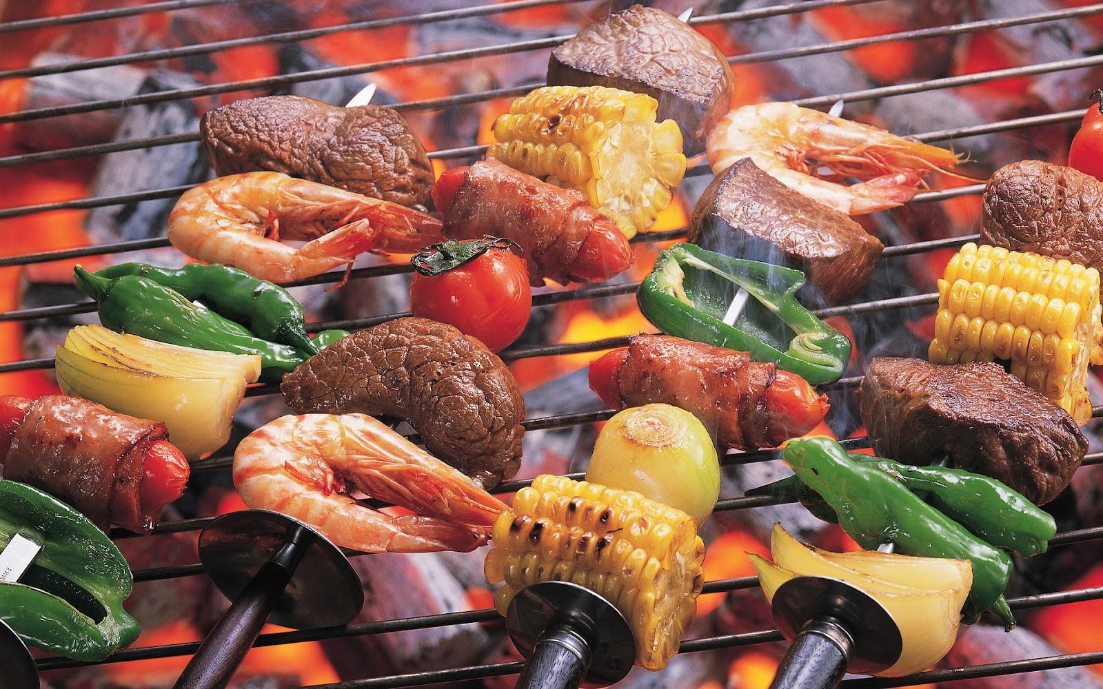 gezonde barbecue