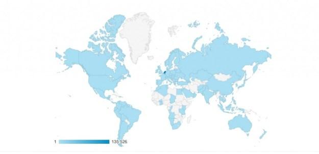 Website wereld