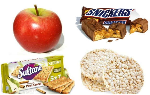 Collage snacks