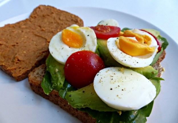 Brood ei avocado