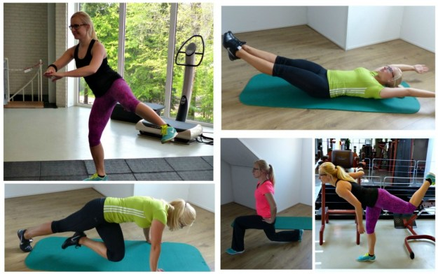 Collage workout challenge