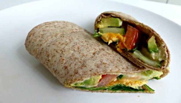 Lunchwrap avocado