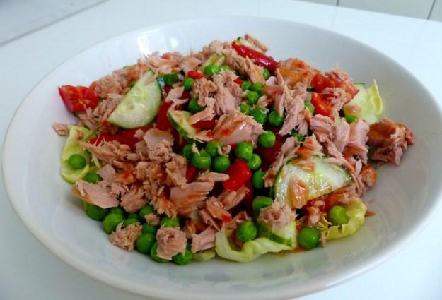 Salade tonijn