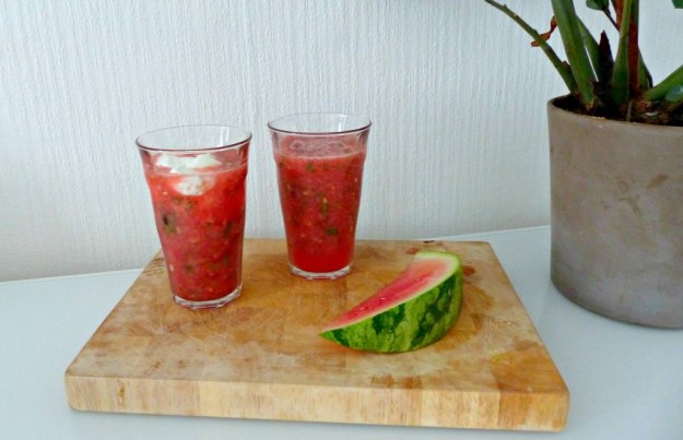 Smoothie watermeloen