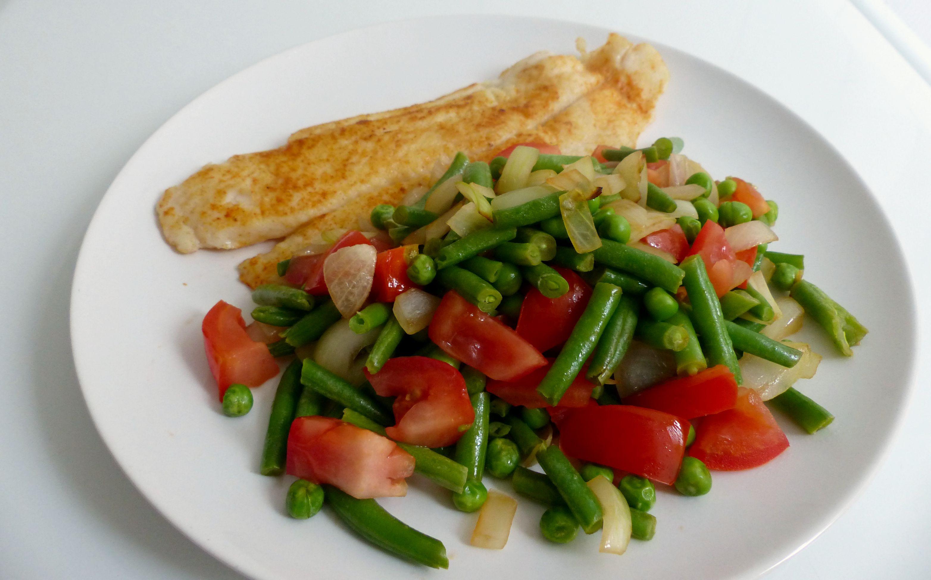 koolhydraatarme warme maaltijd