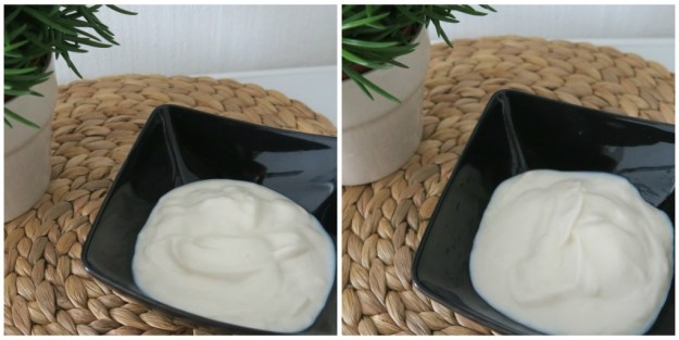 Alpro yoghurt