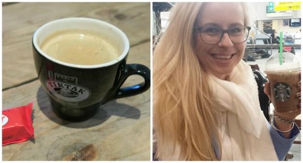Collage koffie