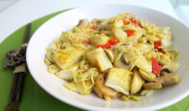 Noodles witvis chinese kool