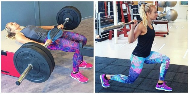 hipthrusts-en-lunges