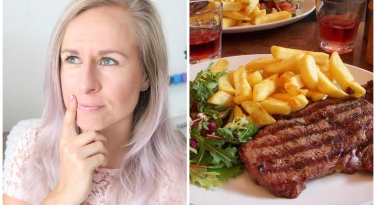 gezond uit eten in restaurant
