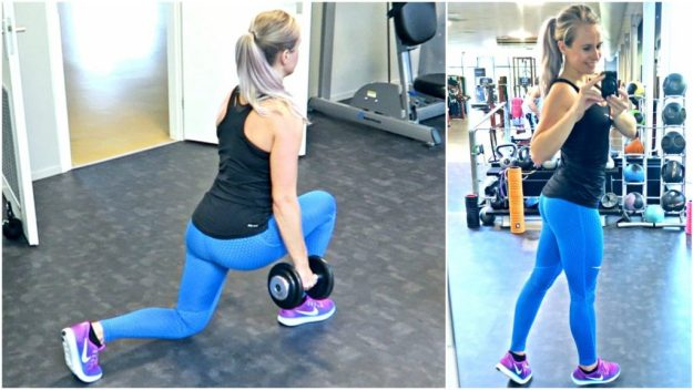 sportschool workout billen