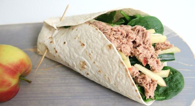 wrap met tonijn
