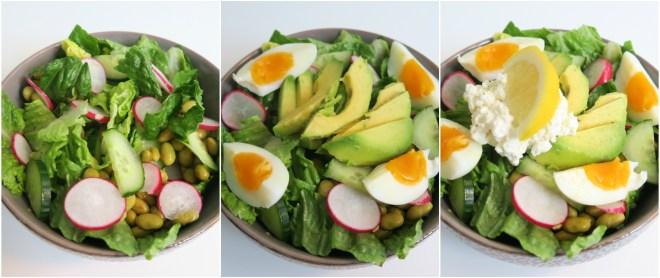 Hoe maak je een gezonde salade