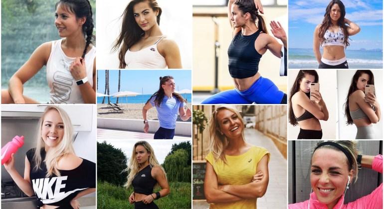 Nederlandse fitgirls op instagram