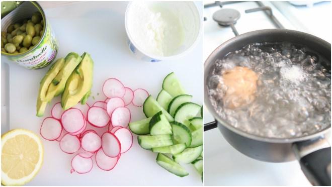Salade ingrediënten