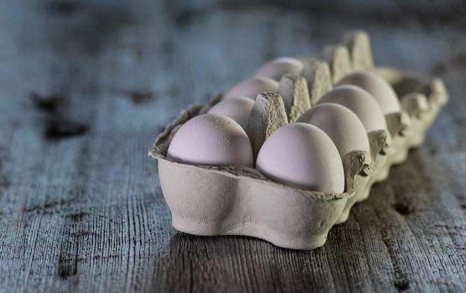 Hoeveel eieren per dag