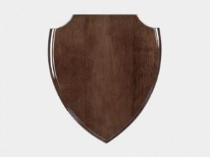 placheta lemn blazon