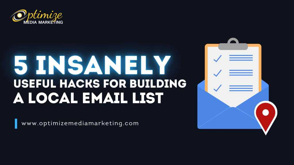 Useful Hacks For Building A Local Email List