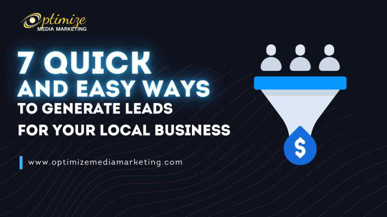 Easy Ways To Generate Leads For Your Local Business