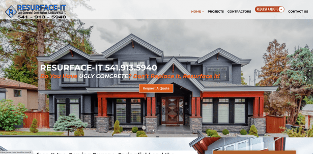 Concrete Resurfacing Eugene Contractor