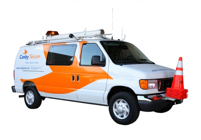 Canby Telcom fleet graphics