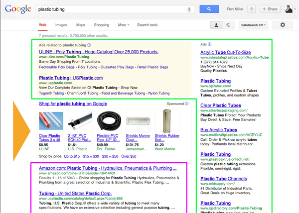 SERP Search Engine Results Page SEO