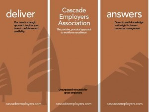Cascade Employers banners