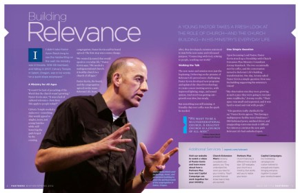 Church Extension Plan the Power of Print, Partners magazine