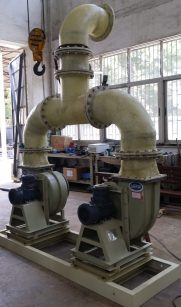 KPONE_Blower skid (before FRP pipe painted)