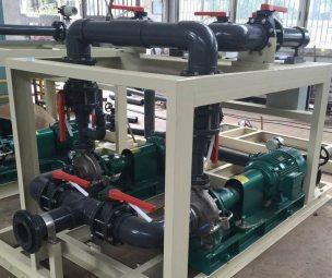 KPONE_Continuous Dosing pump skid