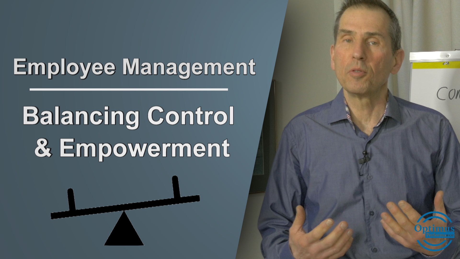 The Managers Guide To Balancing The Control And