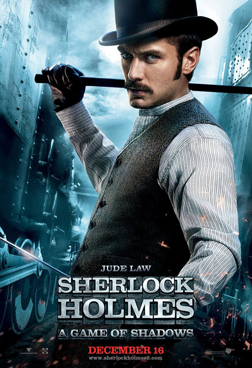 Jude Law, Doctor Watson, Sherlock Holmes: A Game of Shadows