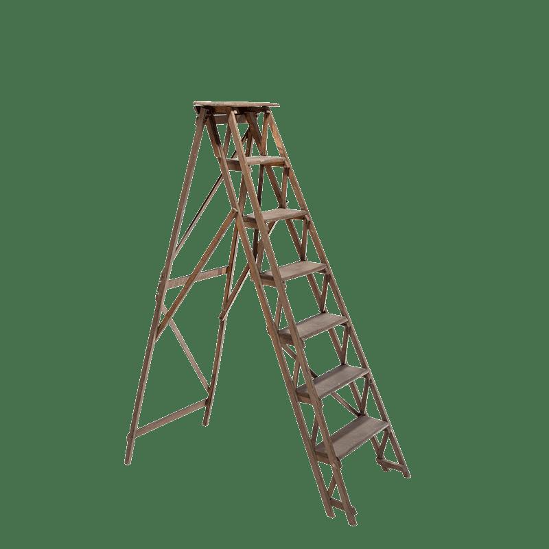 location escabeau en bois options