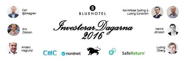 Investerardagarna 2016