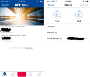 CIT Bank Mobile app