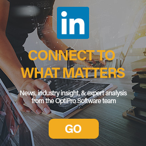 Follow OptiPro Software on LinkedIn