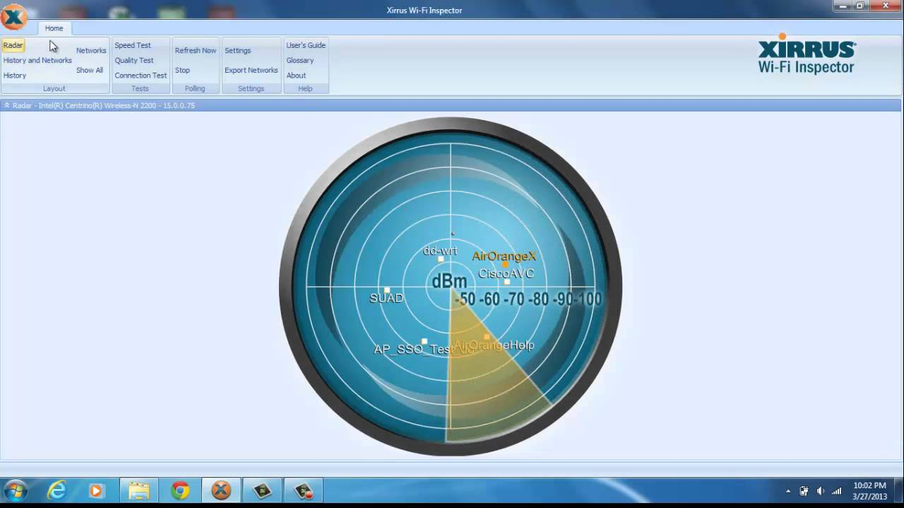 Xirrus WiFi Inspector -Windows WiFi utilities