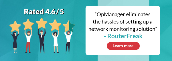 A subject matter expert's review: RouterFreak on OpManager