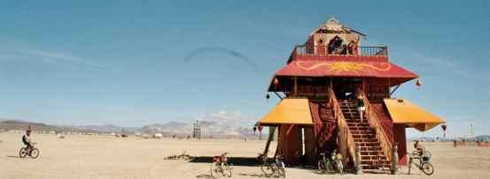 Hus på Burning Man