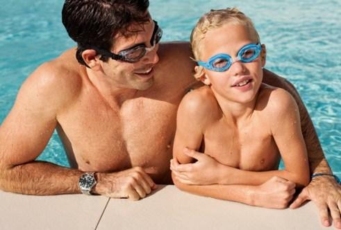 okulary sportowe z korekcją do pływania