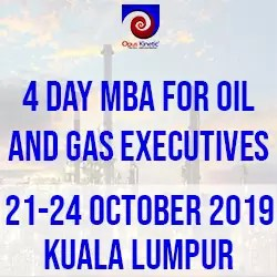 4 Day MBA for Oil and Gas Executives (21-24 Oct 19 KL)